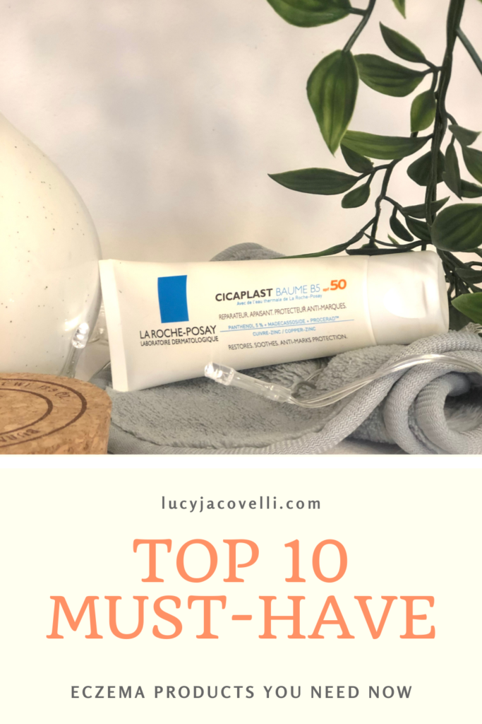 top 10 products for eczema la roche posay cicaplast baume b5