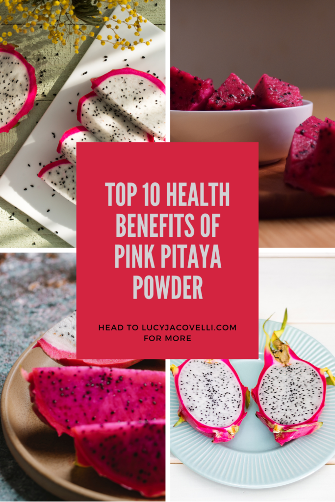 top 10 health benefits of pink pitaya powder