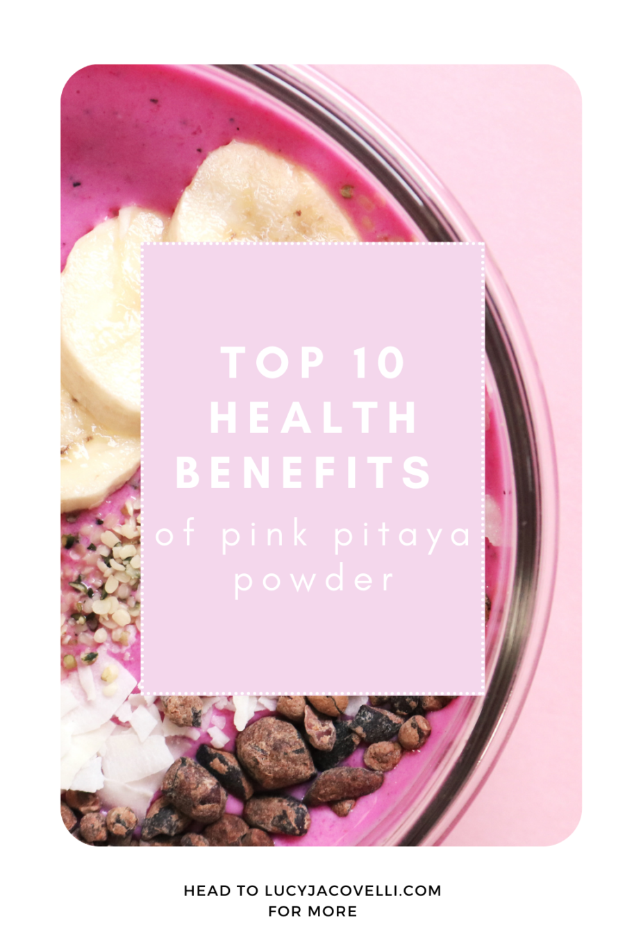 pink pitaya powder benefits